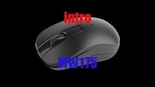Распаковка и обзор манипулятора типа мышь Intro MW175