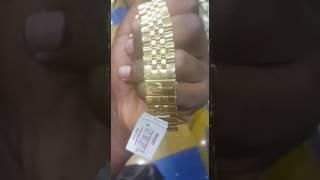 Montre en or depuis Dubaï