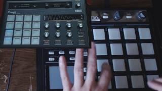 Korg Gadget Recife Drum Machine Demo (Part 1)