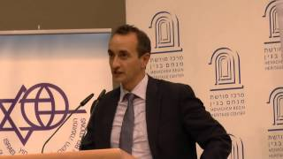 Let My People Go : Gefen Book Launch : Australian Ambassador - Dave Sharma