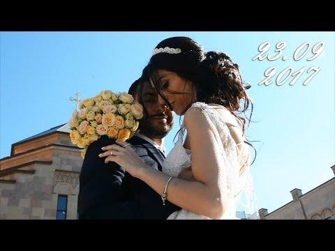 Армянская свадьба. Венчание в Москве