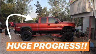 Solid Axle Swap Duramax gets a Make over!!!