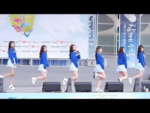 151101 여자친구 (GFRIEND) 오늘부터 우리는 Me Gustas Tu [전체]직캠 Fancam (서울광장) by Mera