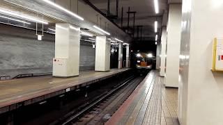 「電笛入り!フル新塗装ACE+エース」近鉄22000系+22600系回送米野検車区行き、名古屋駅到着