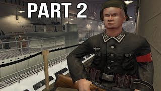 Medal of Honor Allied Assault Gameplay Walkthrough Part 2 - Submarine Base