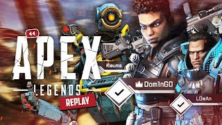 LA GROSSE ÉQUIPE sur APEX LEGENDS ! (ft. LowAn & Théo)