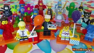LASTENOHJELMIA SUOMEKSI - Lego Minifigures 71021 - Sarja 18 - Juhlat - osa 9