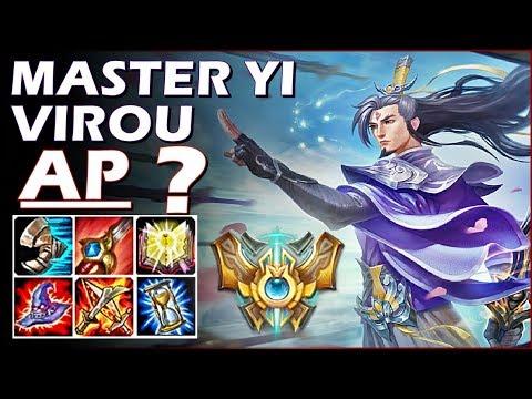 MASTER YI VIROU AP?! FUI TOP GOLD E CARREGUEI CONTRA UM CHALLENGER! MatheusBT