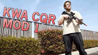 KWA CQR MOD 1 - Reliable, Affordable Gun with Quality 2GX Gearbox   Airsoft GI
