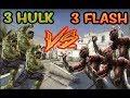 OHA!! KAOS ÇIKTI HİLE SANDILAR!! 3 HULK vs 3 FLASH (CS:GO)