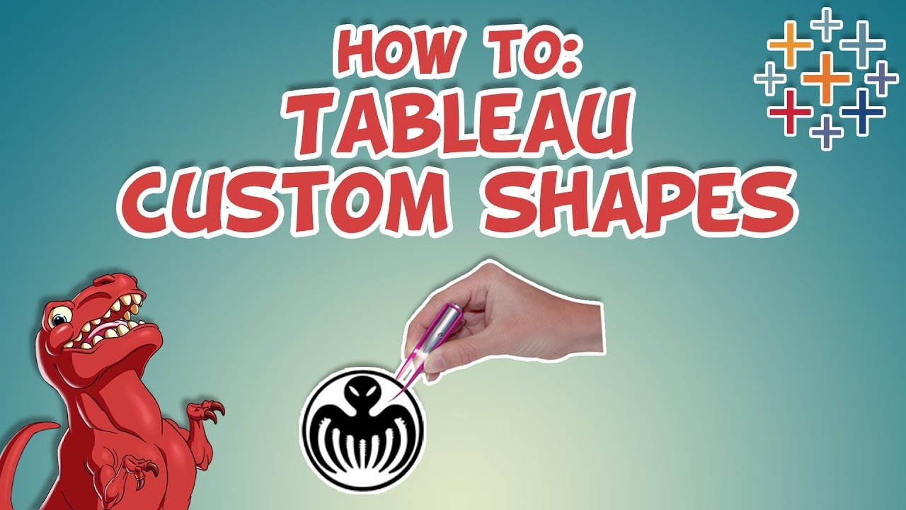 Tableau 9 add background image - How To Make Custom Shapes In Tableau Datasaurus Rex
