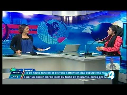 Télé Djibouti Chaine Youtube : JT Français du 07/10/2017