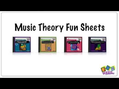 Music Lesson Worksheets for a substitute teacher