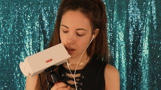 sr3d testing new mic with mouth sounds ear eating whispering tapping asmr