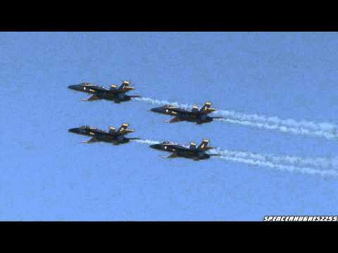 2011 NAF El Centro Air Show - U.S.N. Blue Angels