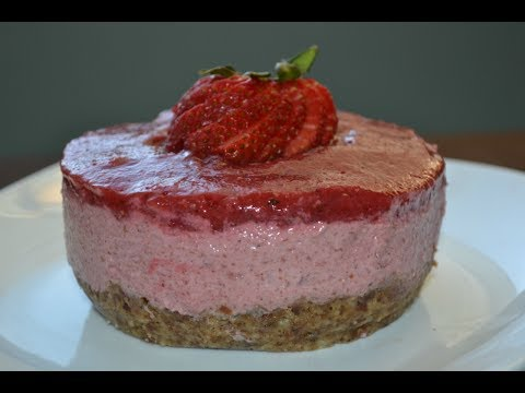 ALKALINE ELECTRIC RAW STRAWBERRY CHEESECAKE | THE ELECTRIC CUPBOARD