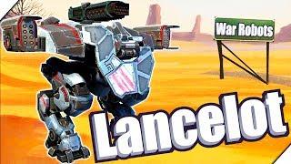 ГРОЗНЫЙ РОБОТ ЛАНСЕЛОТ - Игра War Robots Lancelot. Андроид игра