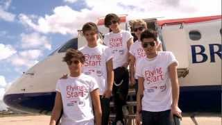 British Airways - One Direction and Flying Start Flight thumbnail