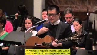 Tập Hát : Giuse Cha Nhân Hiền -  Fr. MJ Nguyễn Trường Luân.  Ngày 16-10-13.