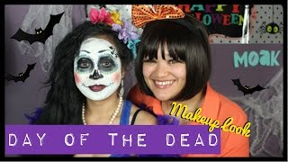 Easy Halloween Makeup: Day of the Dead (Sugar Skull)
