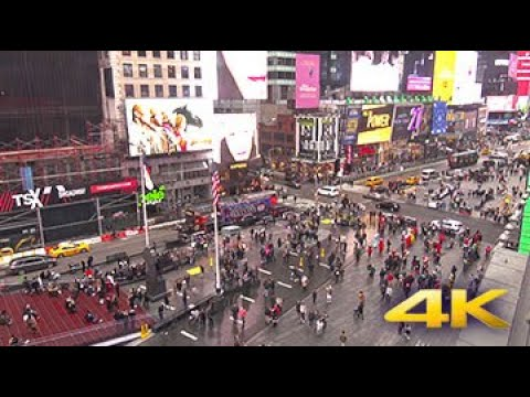 EarthCam Live:  Times Square In 4K