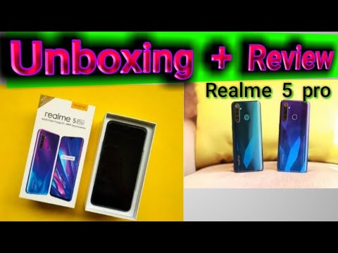 Realme 5 pro.Unboxing and review. All Rounder SAAB Tech.