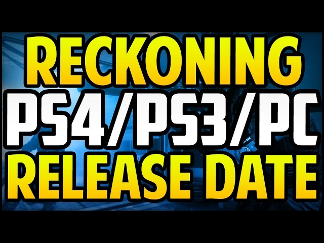 Call of Duty Advanced Warfare RECKONING DLC Release Date PS4/PS3/PC [AW DLC 4]