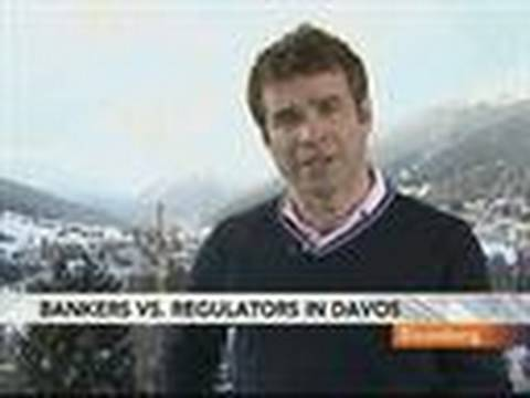 Bankers, Regulators Meet in Davos on Financial Crisis: Video
