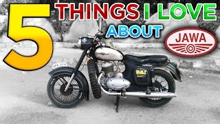 5 Things I Love About JAWA Motorcycle