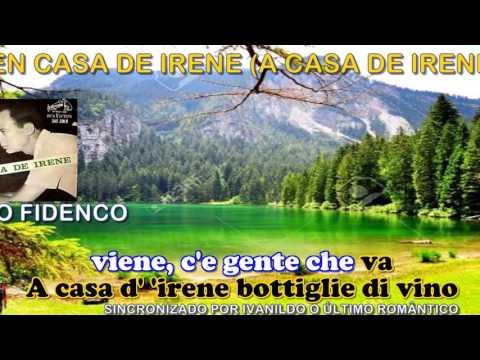 A Casa D'Irene  - Nico Fidenco  - karaoke