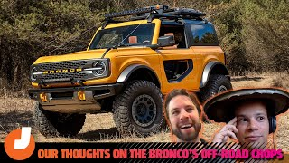 homepage tile video photo for What Jalopnik's Off-Road Experts Think About The 2021 Ford Bronco