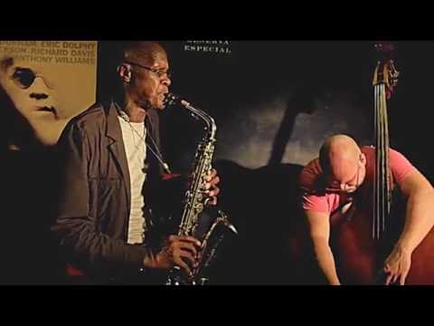 CHARLES GAYLE TRIO plays 'Improvisation 5' live at Jimmy Glass Jazz Bar 2016