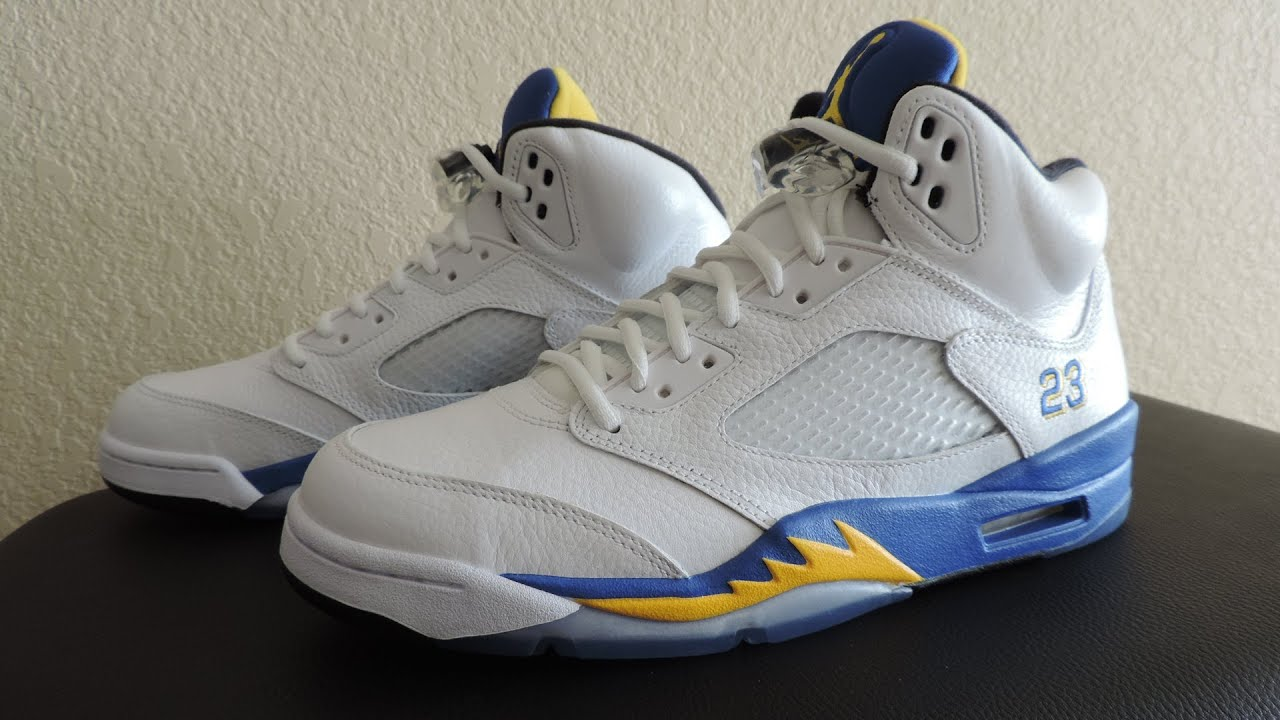 27b3496e175057 20+ Nike Air Jordan 5 Laney Pictures and Ideas on Weric