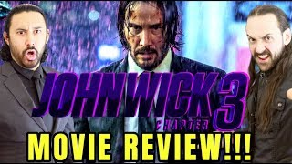 JOHN WICK: CHAPTER 3 - Parabellum - MOVIE REVIEW!!!