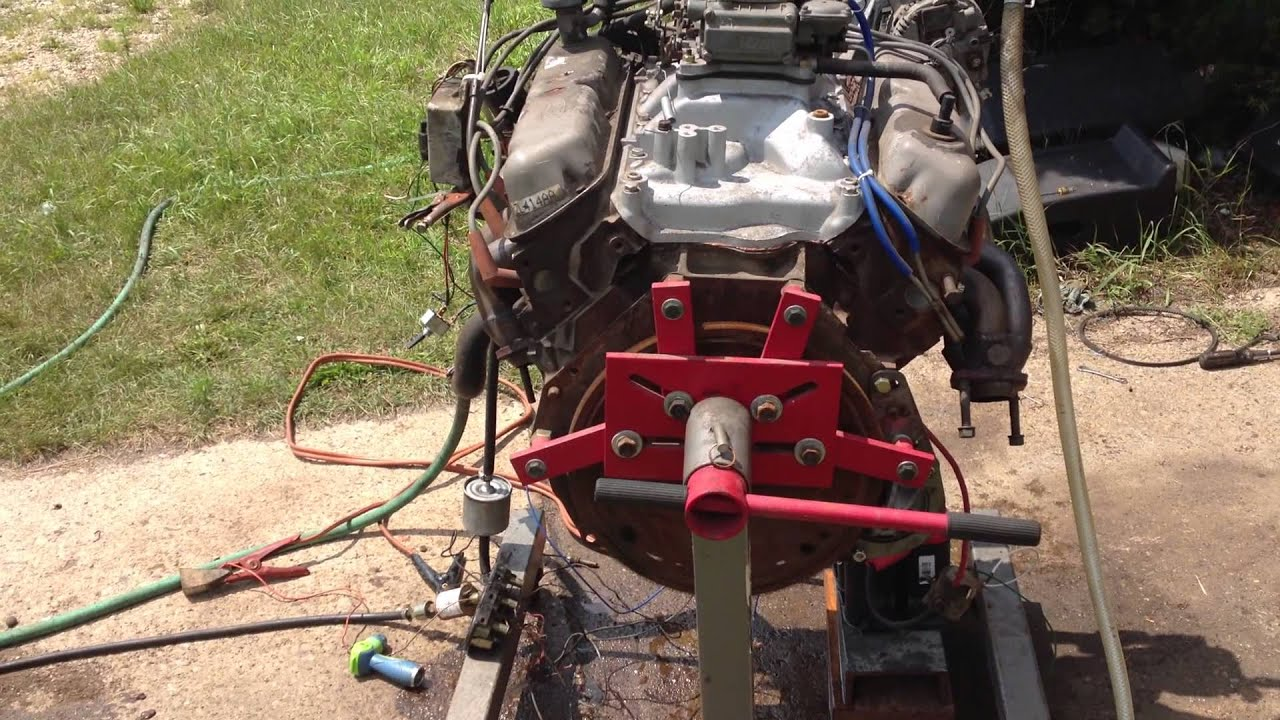 Engine Run Stand Wiring