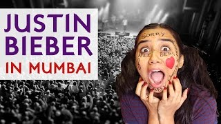 Justin Bieber Live In Mumbai | Types of People There | MostlySane