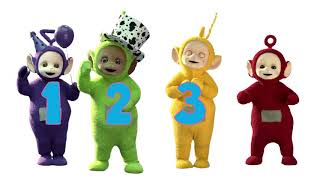Count to 10 With The Teletubbies - Teletubbies Learn Numbers