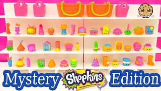 Target Exclusive Shopkins Season 3 Mystery Edition 40 NEON Box Collection Unboxing - Cookieswirlc