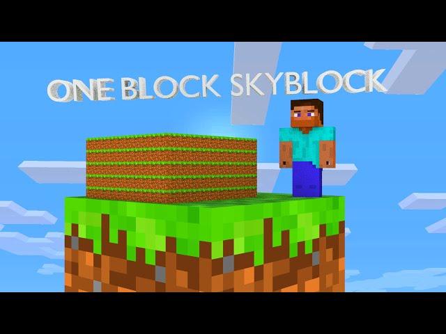 One Block Skyblock