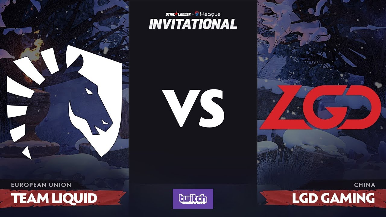 Team Liquid против LGD Gaming, Вторая карта, Grand Final SL i-League Invitational S4