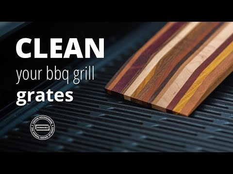 How to use a wood scraper to clean your bbq grill grates