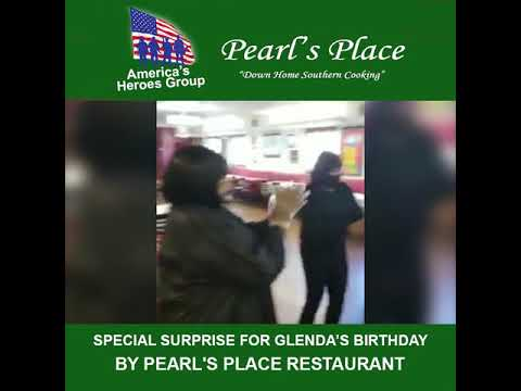 Special Surprise Birthday Celebration for Glenda by Pearl's Place Restaurant