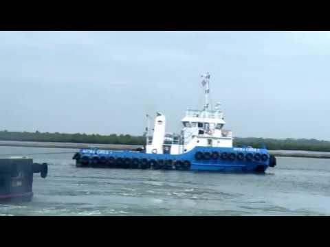 Sea/Land Transport Heavy MODULE STR E-3 - by Multi Axle + SPMT & Tug & Barge