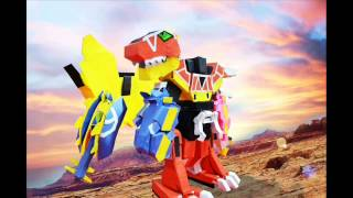 Power Rangers Dino Charge Megazord PAPERCRAFT