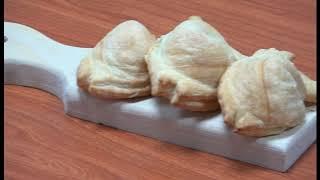 Готовим пирожки с сыром на праздничный стол