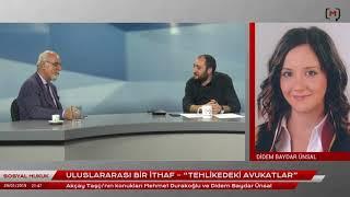 """Sosyal Hukuk: Uluslararası Bir İthaf """"Tehlikedeki Avukatlar"""" Mehmet Durakoğlu ve Didem Baydar Ünsal"""