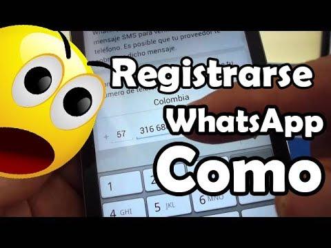 Cómo registrarse en WhatsApp Huawei Ascend G610 comoconfigurar