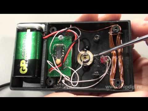 how to make a homemade emf detector