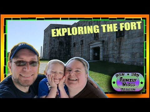 Exploring Fort Knox and Penobscot Bridge Observation Tower