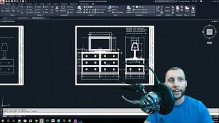 Introduction To Autocad 2020 - 2d Basics - #9 - The Furniture Drawing!